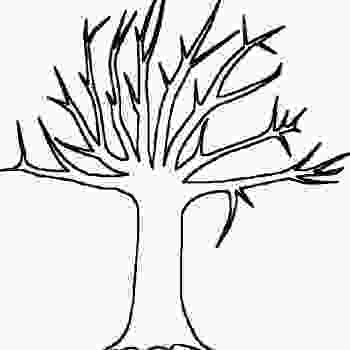 bare tree coloring pages tree without leaves of bare tree coloring pages tree autumn