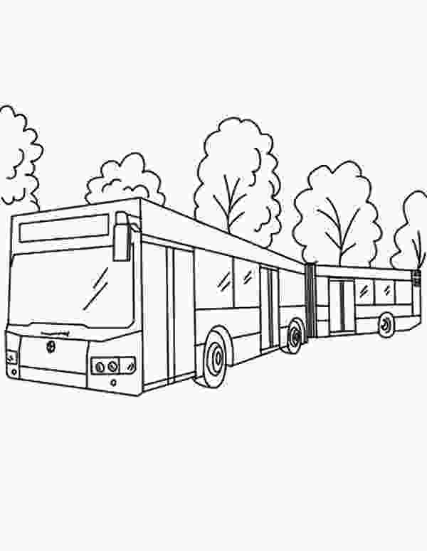 big city green coloring pages city bus netart