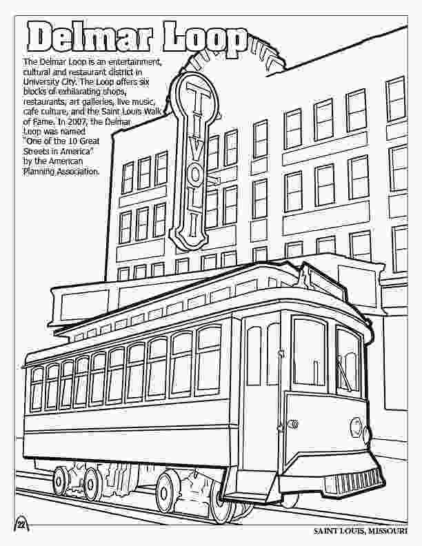 big city green coloring pages coloring books st louis gateway to the west 2