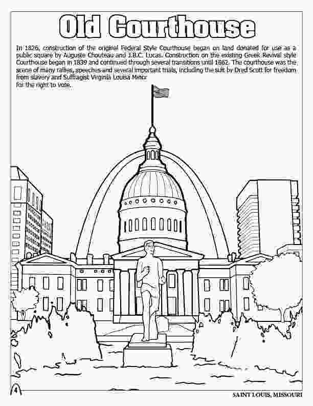 big city green coloring pages coloring books st louis gateway to the west 3