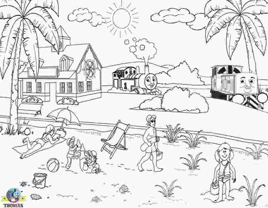 big city green coloring pages kids free online coloring pages thomas train printable