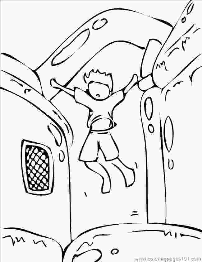 bouncy castle coloring pages black and white bounce house clipart clipground