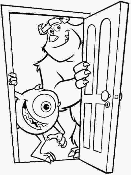 coloring monsters inc fun coloring pages monster inc coloring pages