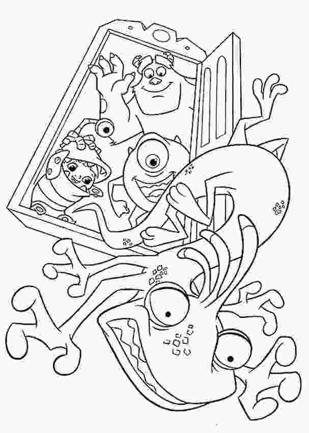 coloring monsters inc monsters inc coloring pages best coloring pages for kids 3