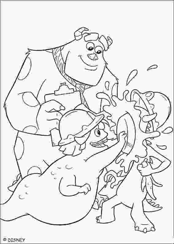 coloring monsters inc monsters inc coloring pages minister coloring