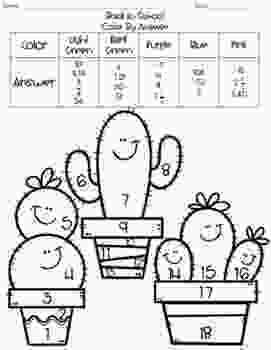 coloring pages 7th grade 7th grade math back to school color by answer by middle 1