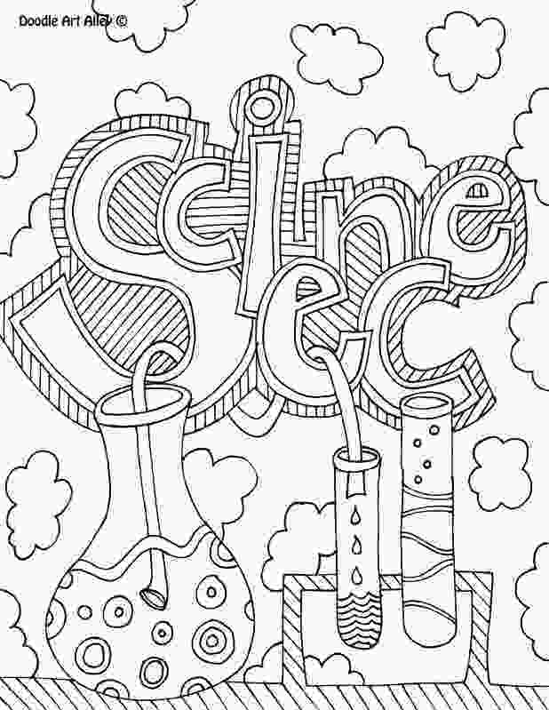 coloring pages 7th grade science notebook cover coloring pages science school