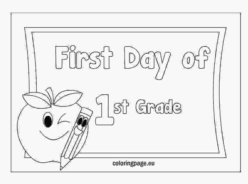 coloring sheets 1st grade first grade coloring pages free coloring home