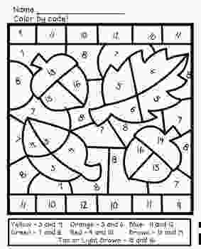 coloring sheets 1st grade math coloring sheets for fall addition and subtraction