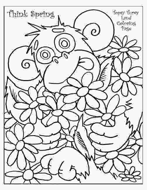 coloring sheets 1st grade spring coloring pages for first grade animal spring