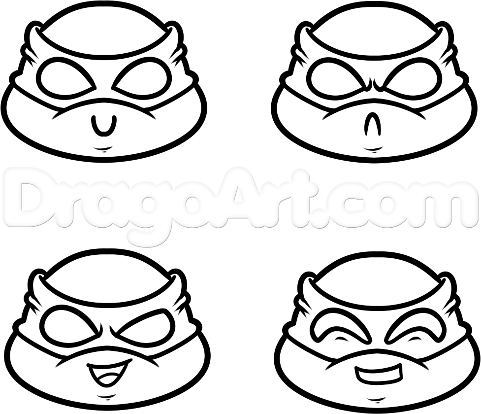 how to draw teenage mutant ninja turtles how to draw chibi teenage mutant ninja turtles step by