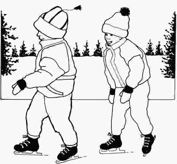 skating coloring pages 17 best images about ice skating on pinterest sky cats 1