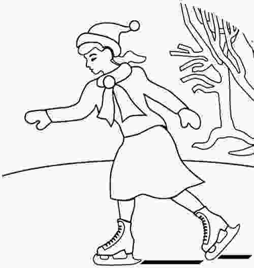skating coloring pages 17 best images about ice skating on pinterest sky cats 2