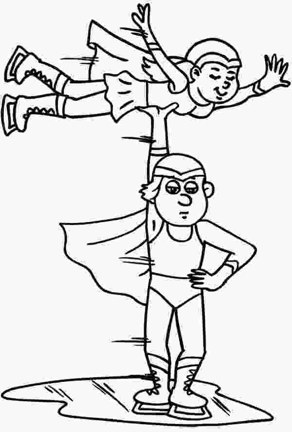 skating coloring pages 17 best images about ice skating on pinterest sky cats