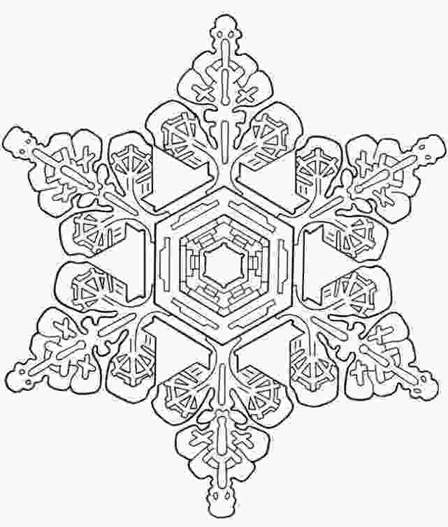 snowflake coloring pages for adults advanced snowflake coloring page for adults abstract