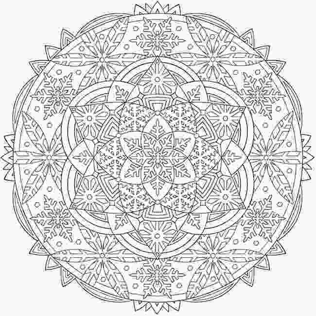 snowflake coloring pages for adults best 25 snowflake coloring pages ideas on pinterest