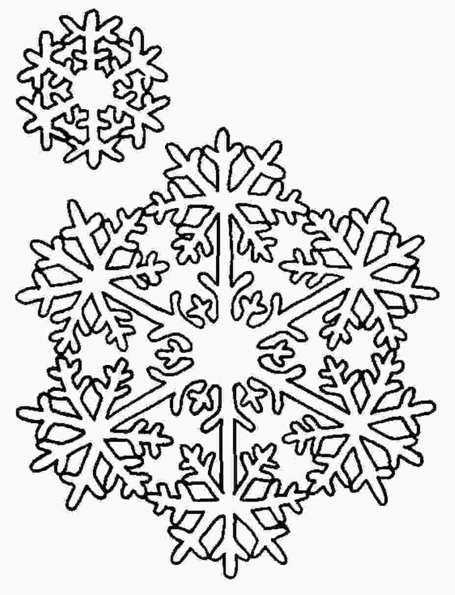snowflake coloring pages for adults free printable snowflake coloring pages for kids