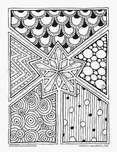 snowflake coloring pages for adults geometric holiday coloring shapes coloring snowflakes