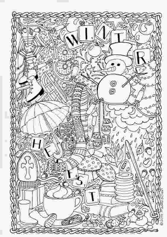 snowflake coloring pages for adults mumsboven tekeningen adult coloring pinterest blog