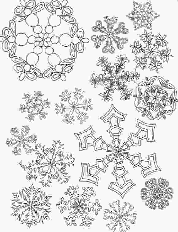 snowflake coloring pages for adults printable snowflake coloring picture for adults abstract