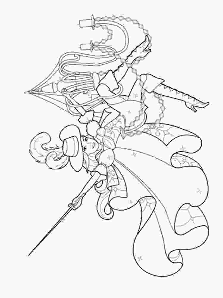 three girls coloring page barbie and the three musketeers coloring pages free 1