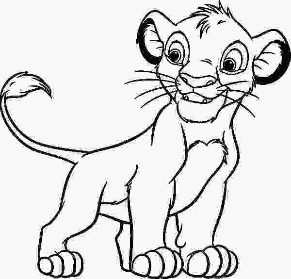 baby nala coloring pages 24 best images about lion king coloring pages on pinterest