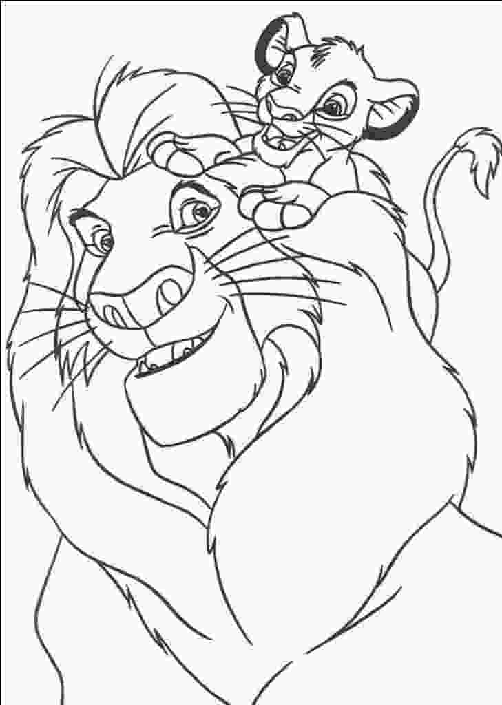 baby nala coloring pages free printable simba coloring pages for kids 2