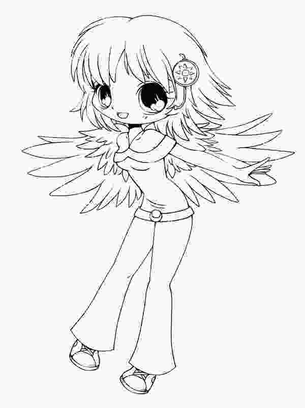 coloring chibi girl chibi coloring pages to download and print for free