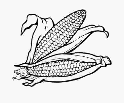 coloring outline corn clipart healthy food coloring pages clipart panda free clipart