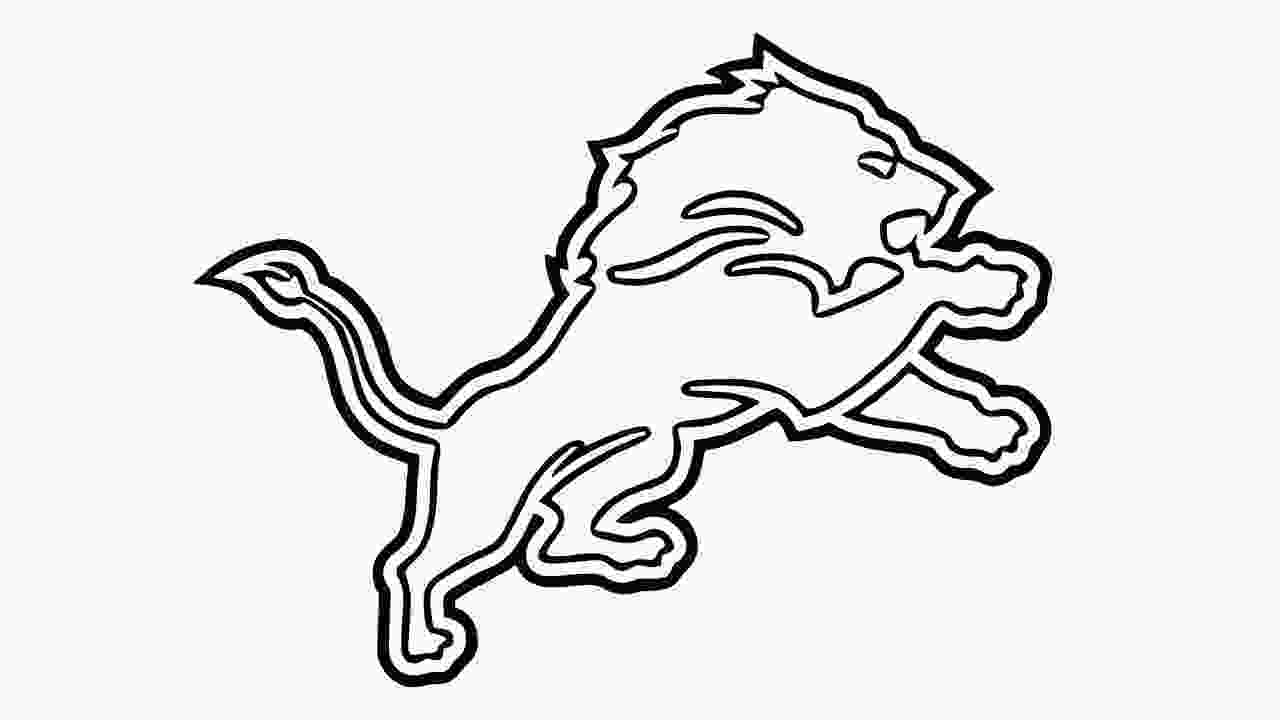 detroit lions logo images 14 symbol drawing lion for free download on ayoqqorg