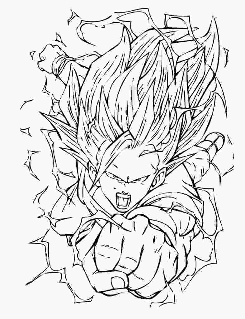 dragon ball z printable pictures dragon ball z coloring pages 360coloringpages