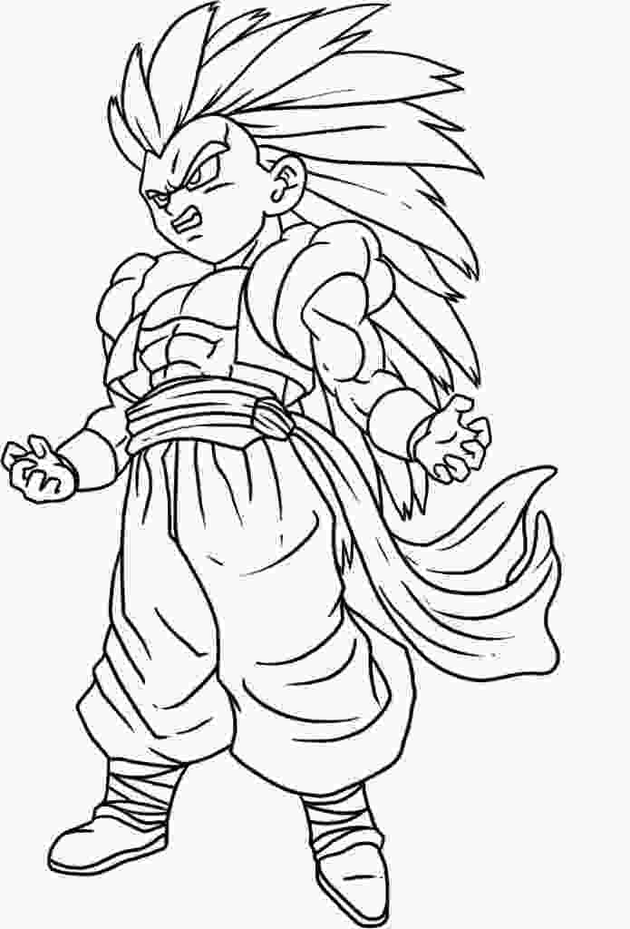dragon ball z printable pictures free printable dragon ball z coloring pages for kids 2