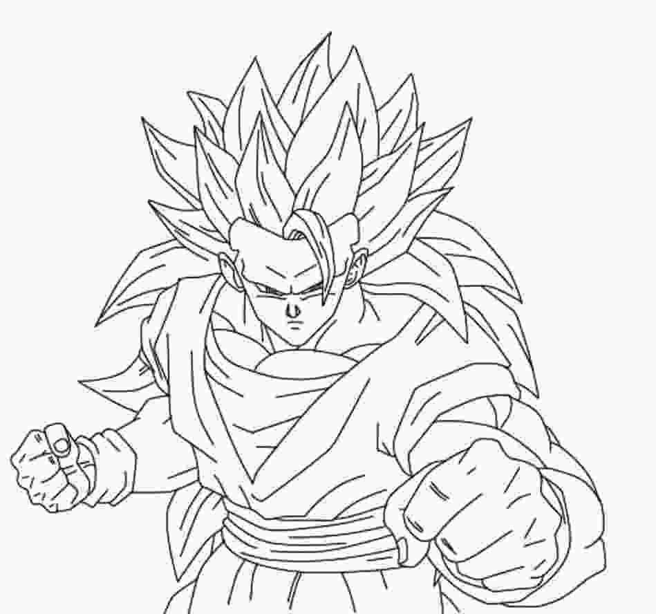 dragon ball z printable pictures