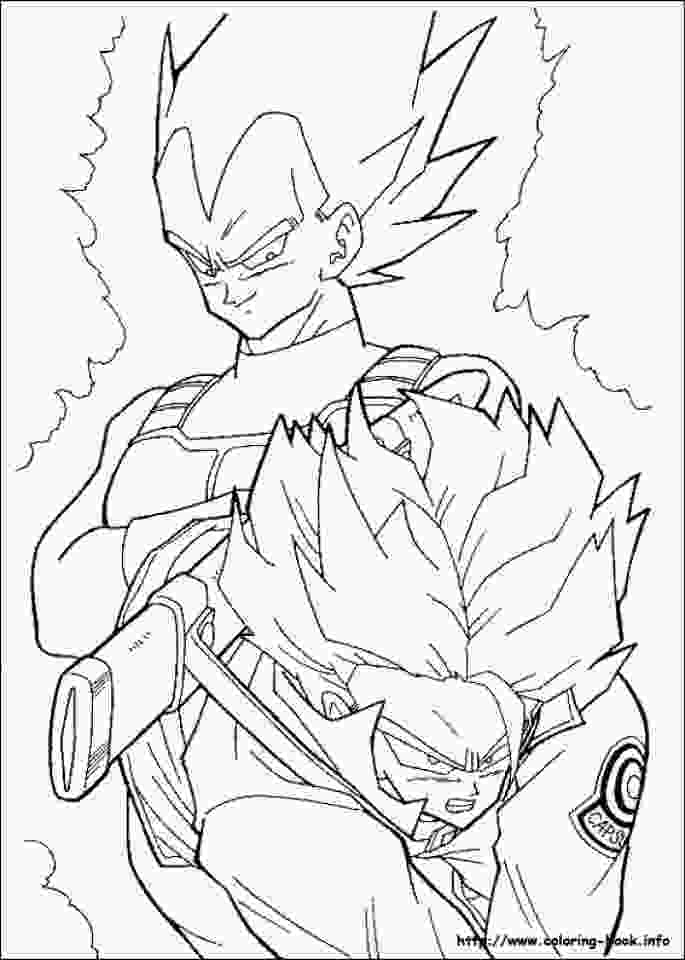 dragon ball z printable pictures get this printable dragon ball z coloring pages 85567