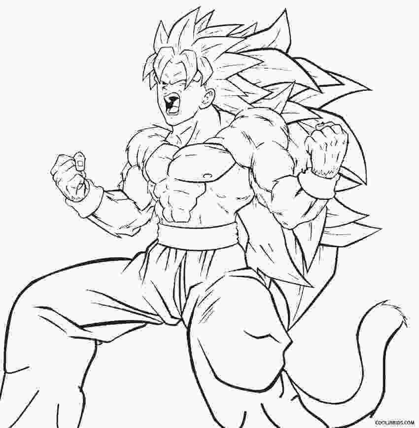 dragon ball z printable pictures printable goku coloring pages for kids cool2bkids 2