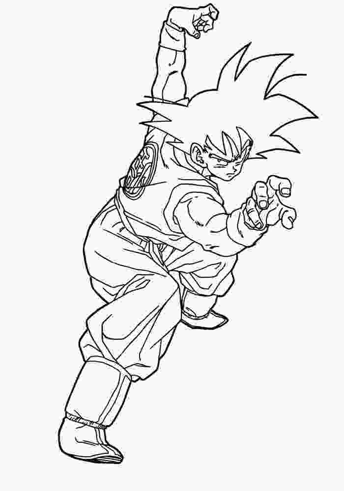 dragon ball z printable pictures simple dragon ball z coloring pages pictures free