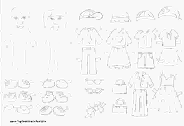 dress up paper dolls printable free printable paper doll cutout templates for kids and