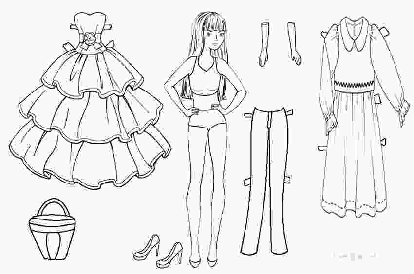 dress up paper dolls printable free printable paper doll templates cool2bkids