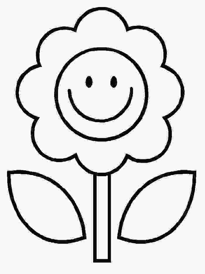 flower color page free printable flower coloring pages for kids best 3