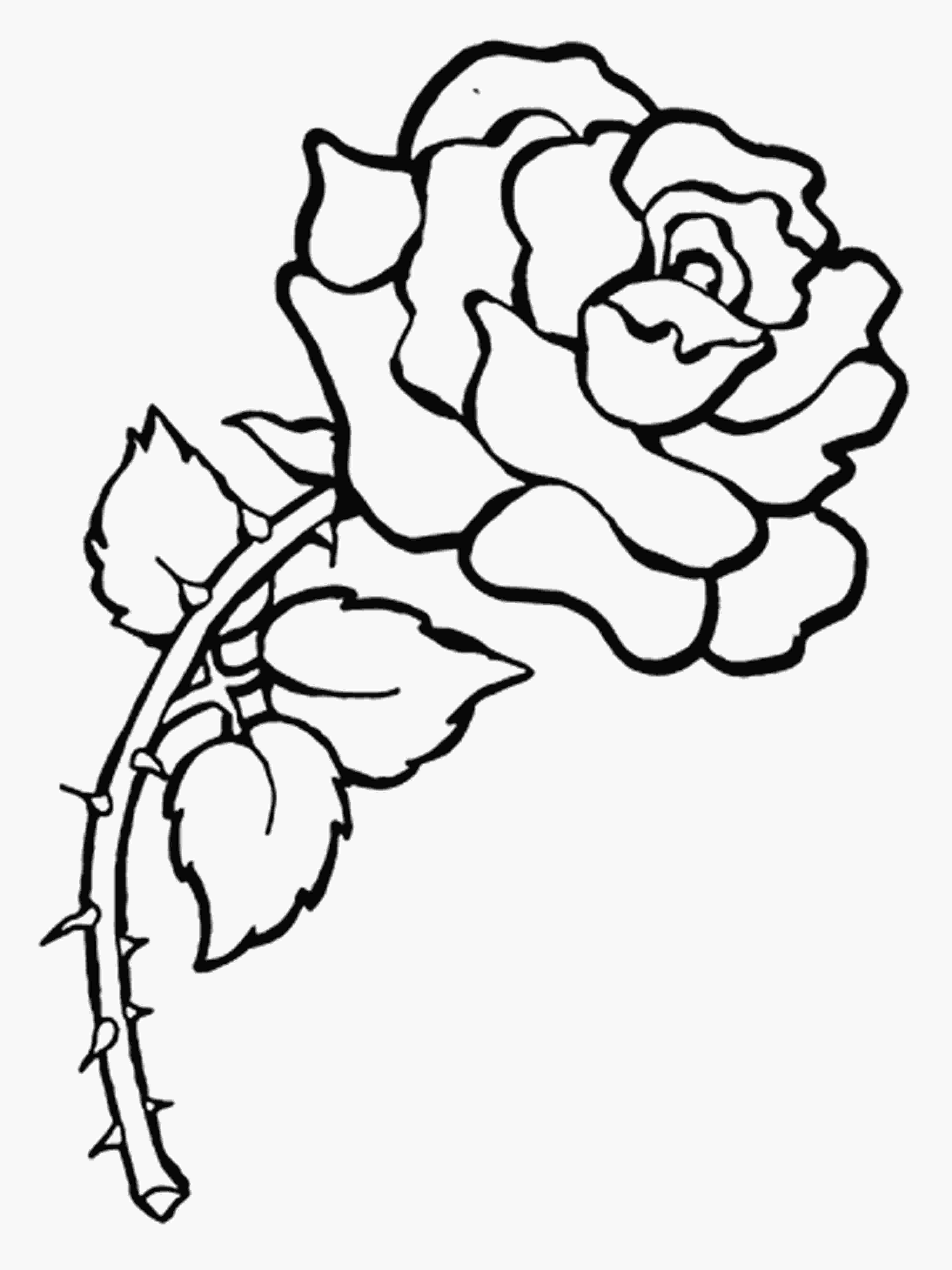 flower color page free printable flower coloring pages for kids best 9