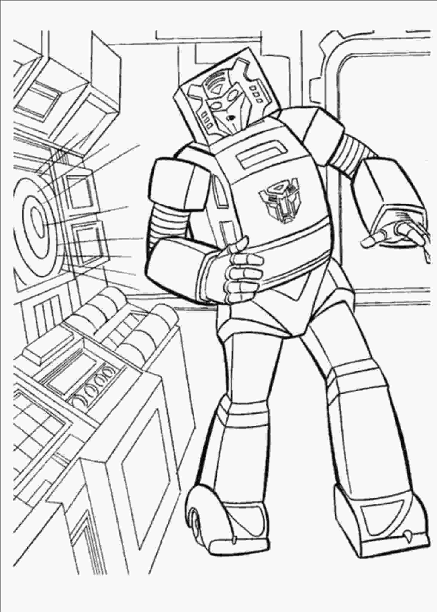 free transformer coloring pages print amp download inviting kids to do the transformers 2