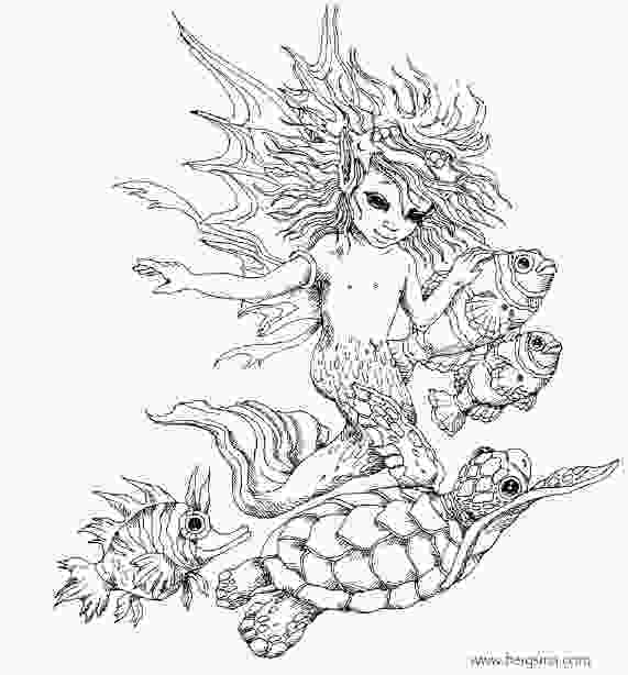 hard advanced mermaid coloring pages 98 best images about artist jody bergsma coloring on