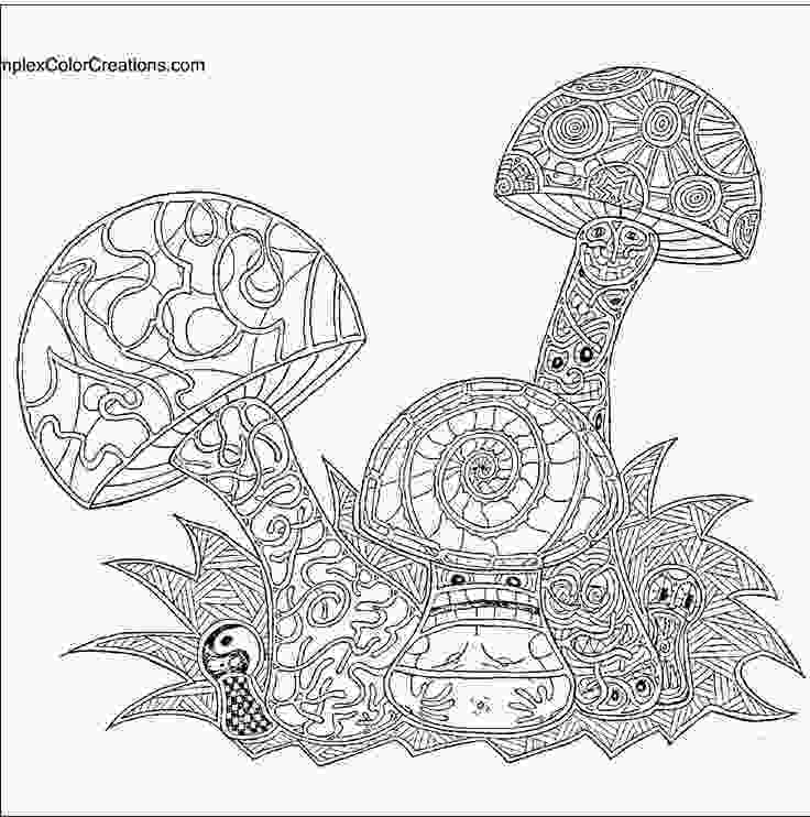 hard advanced mermaid coloring pages hard trippy coloring page mushroom coloring page all