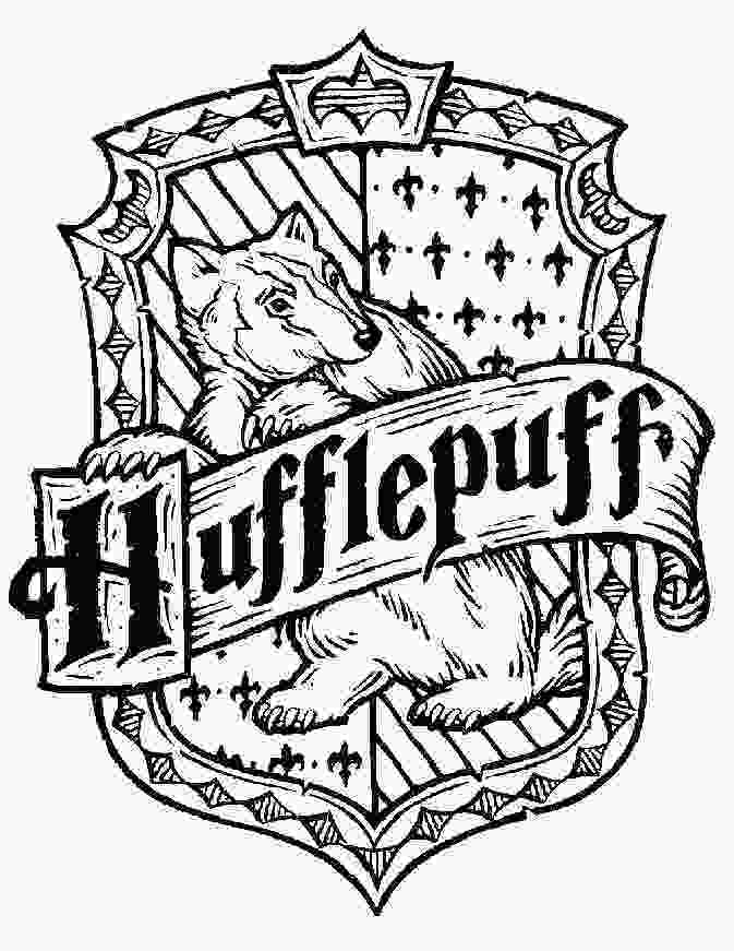 harry potter house coloring pages harry potter coloring page mosaic ideas pinterest