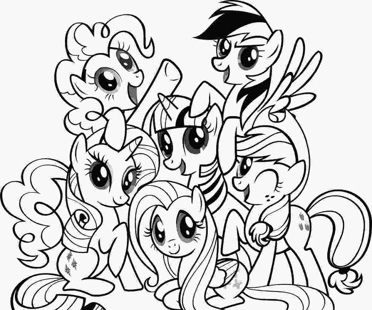 my little pony color in free printable my little pony coloring pages for kids my