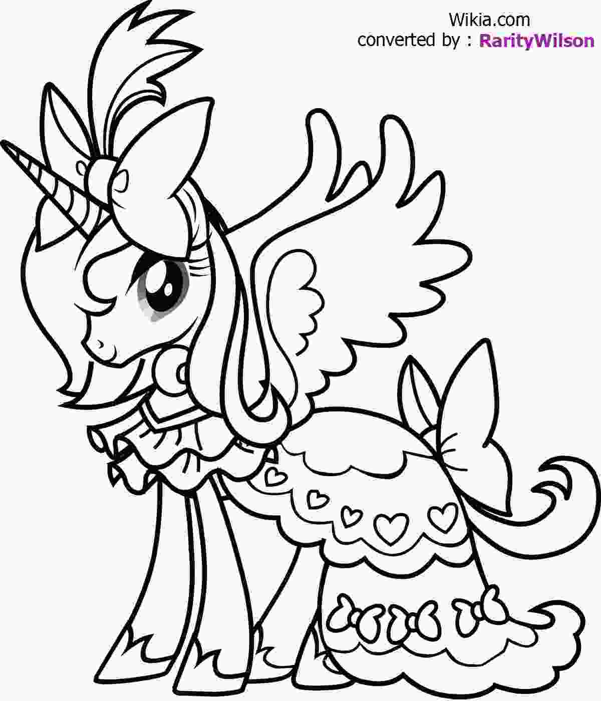 my little pony color in my little pony coloring pages team colors