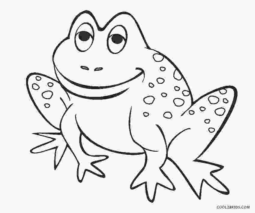 pictures of frogs to color free printable frog coloring pages for kids cool2bkids 1