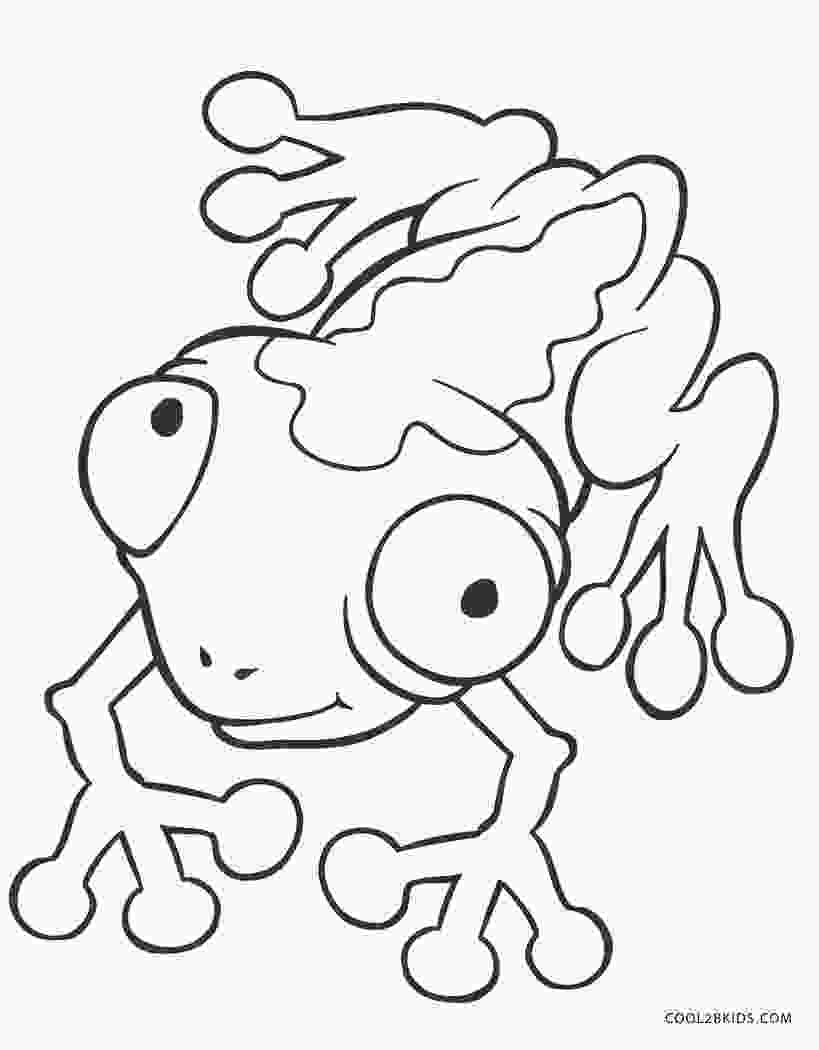 pictures of frogs to color free printable frog coloring pages for kids cool2bkids