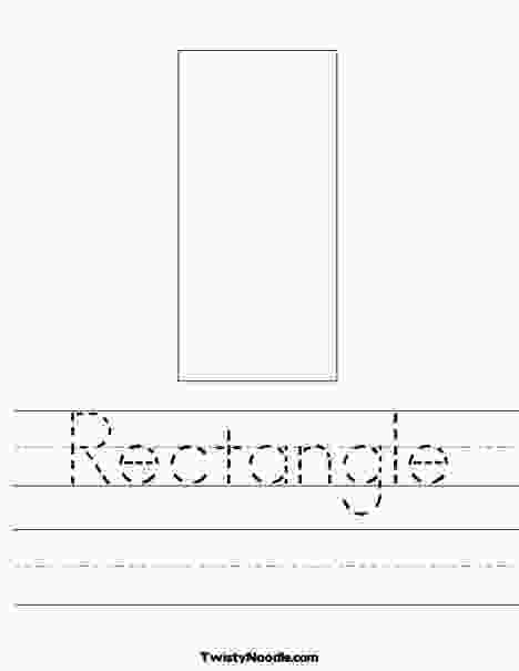 rectangle coloring worksheet 17 best images about rectangle on pinterest homeschool