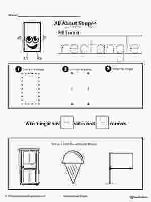 rectangle coloring worksheet all about rectangle shapes shapes worksheets shapes